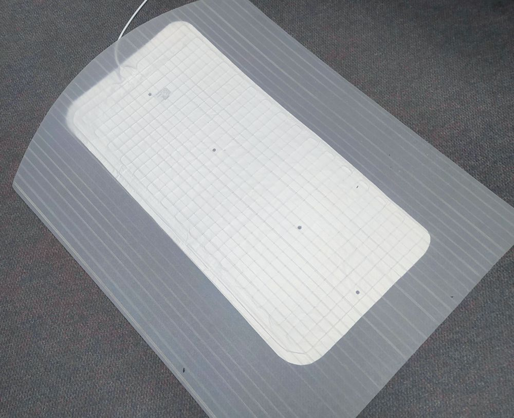 Heated Office Protector Mat